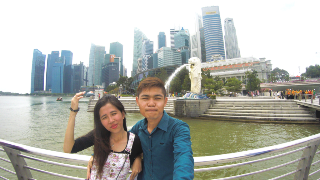 Merlion Park - 8 Spots in Singapore - http://thejerny.com