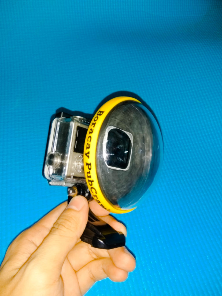 DIY GoPro Dome using *Candy Dome* - http://thejerny.com