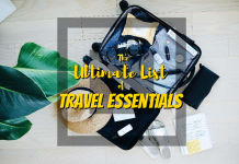 The Ultimate List of Travel Essentials - https://thejerny.com