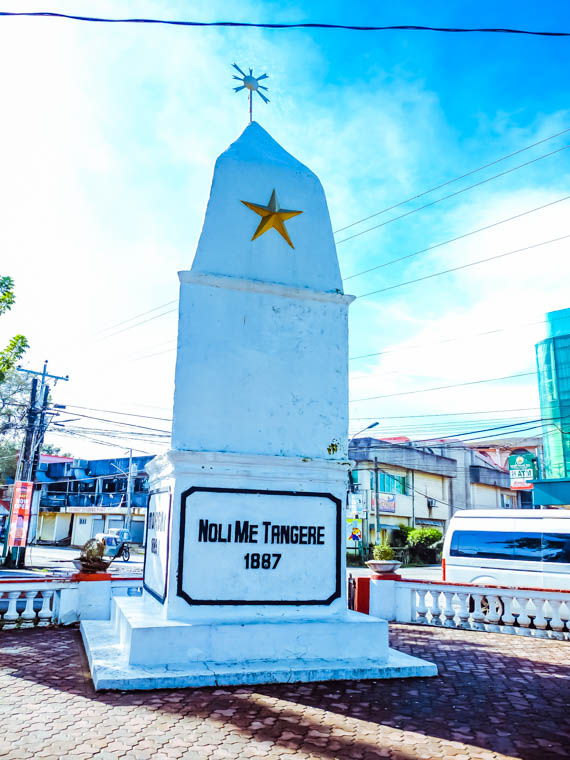 Travel Guide: 11 Must-See and Do in Camarines Norte - First Rizal Monument - http://thejerny.com
