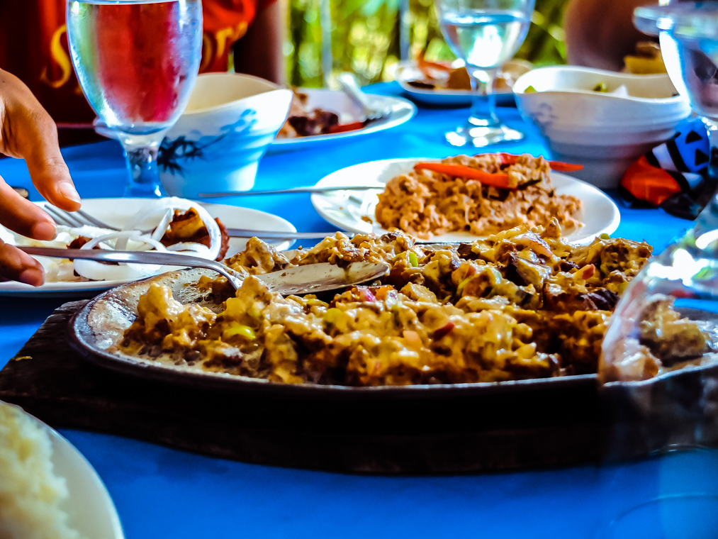 What to Eat in Camarines Norte - Sizzling Pork Sisig- http://thejerny.com