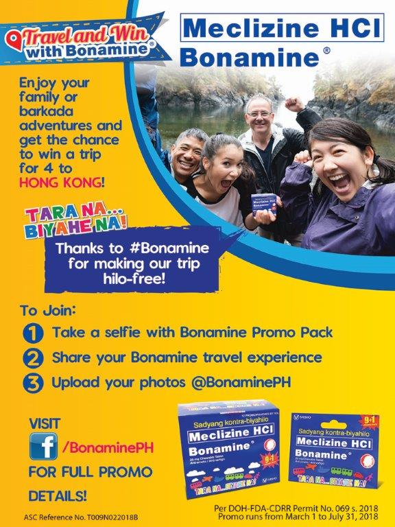 Bonamine Travel and Win - https://thejerny.com