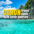 Coron Travel Guide: 4D3N Coron Itinerary - http://thejerny.com