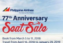 #SEATSALE: PAL's 77th Anniversary | Fly for as low as 77 pesos!