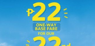 #SEATSALE: Fly for as low as P22 Base Fare with Cebu Pacific on all Destinations!
