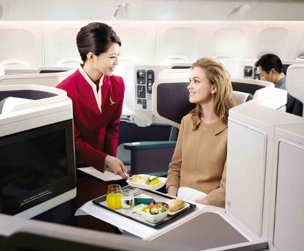Cathay Pacific Business class review in 2018