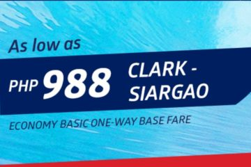 Clark to Siargao for as low as PHP988 via Philippine Airlines! - http://thejerny.com