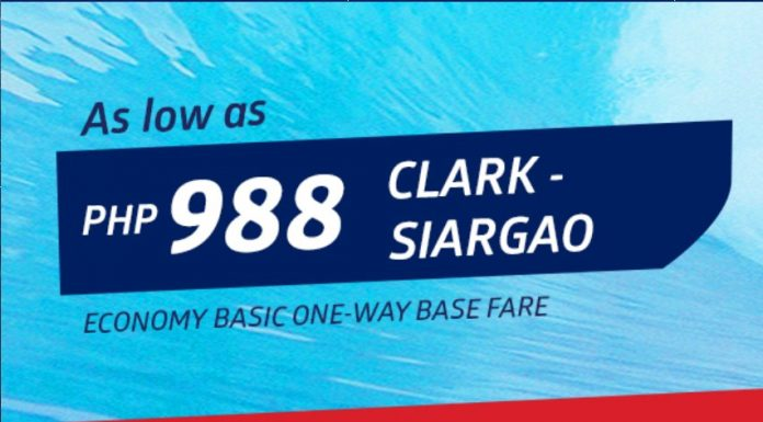 Clark to Siargao for as low as PHP988 via Philippine Airlines! - https://thejerny.com