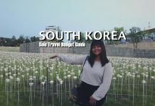 South Korea | Solo Travel Budget Guide 2018 | 4D3N Itinerary - https://thejerny.com