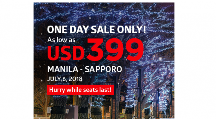 #SEATSALE: Fly direct from Manila to Sapporo as low as 399 USD via Philippine Airlines! - thejerny.com