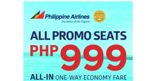 Seatsale Philippine Airlines 3 Day Sale Fly For As Low As 999 Per Way