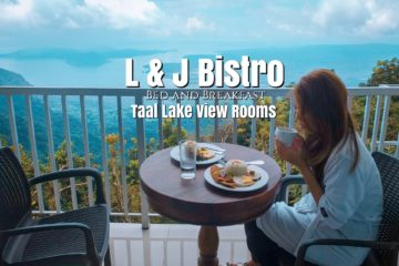 L J Bistro Bed And Breakfast Taal Lake View Rooms Breakfast Staycation Review Giveaway