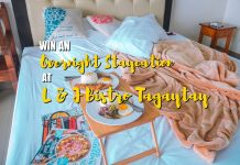 Win An Overnight Staycation At L J Bistro Tagaytay