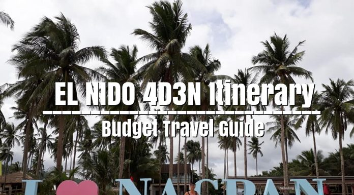 PALAWAN | El Nido Itinerary 4D3N for only ₱9,200 | Budget Travel Guide