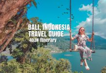 4D3N BALI INDONESIA ITINERARY | Bali Travel Guide 2018