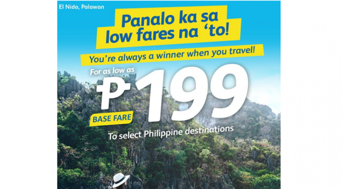 #SEATSALE | Fly for as low as P199 at Cebu Pacific! Book until Oct 16!