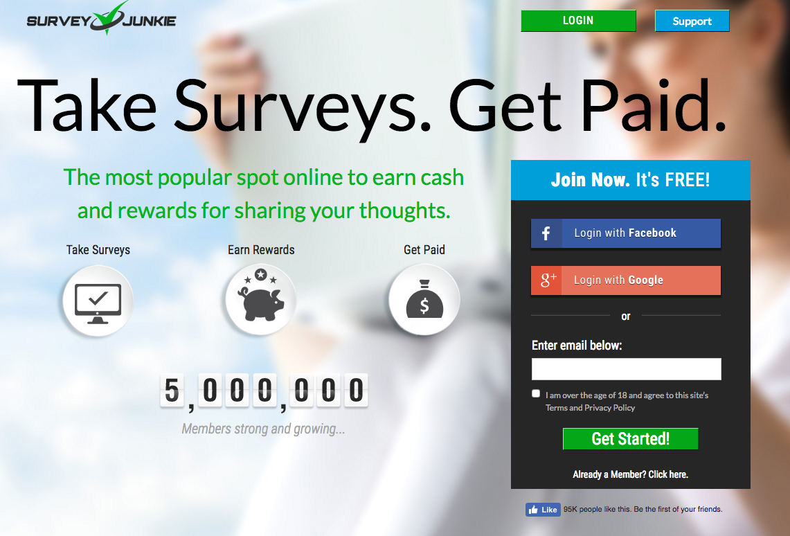 Learn How to Earn Online by Answering Surveys with Survey Junkie